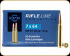 PPU - 7x64 Brenneke - 140 Gr - Rifle Line - Pointed Soft Point Boat Tail - 20ct - PP764
