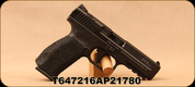 """Used - Canik - 9mm - TP9sa - Semi-Auto - Black Aggressive Stippled Grips/Black Finish, 4.4""""Barrel, Warren Tactical white-dot sights, c/w (2)10 round magazines, paddle/belt attachment, holster - in case"""