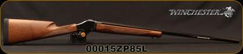 "Winchester - 22-250Rem - 1885 High Wall Hunter -  Falling Block Single Shot Rifle - Walnut Stock/Polished Blued Finish, 28""Octagon Barrel, Mfg# 534112210, S/N 00015ZP85L"