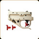 Timney Triggers - Ruger 10/22 Calvin Elite Adjustable w/Multi Shoe Options - Silver w/Red - 1022CE-16