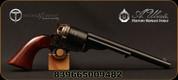 "Taylor's & Co - Uberti - 45Colt - Mason Revolver 1860 Army - Walnut Grips/Steel Backstrap & Triggerguard/Case-hardened finish/Blued, 8""Barrel, Mfg# 9031"