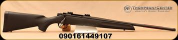 "Thompson Center - 6.5Creedmoor - Compass - Black Composite Stock/Blued, 22""Threaded Barrel, 5R Rifling, 5rd Detachable Flush-Fit magazine, Adjustable Trigger, Mfg# THO11703"