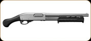 "Remington - 12Ga/3""/14"" - Model 870 Marine Magnum TAC 14 -  Pump Action Shotgun - Nickel - Raptor Pistol Grip - Magpul M-Lock Forend - Mfg# 81312"