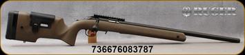 """Ruger - 22LR - American Rimfire Long-Range Target -  Speckled Black/Brown Laminate/Matte Blued, 22"""" Barrel -  Scope Base Installed - Mfg# 08378"""