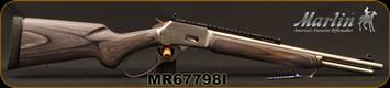 "Marlin - 44RemMag/44S&W - Model 1894SBL - Big Loop Lever Action - Black/Gray Laminate Stock/Stainless, 16.5""Barrel, 8-Shot Tubular Magazine, Mfg# 70432, STOCK PHOTO"