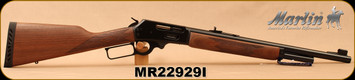 """Marlin - 45-70Govt - 1895G - Lever Action - American Black Walnut w/Checkered-Cut Straight Grip/Blued, 18.5"""", Mar-Shield Finish, Ventilated Recoil Pad And Swivel Studs, MFG# 70462, STOCK PHOTO"""
