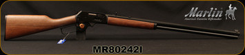 "Marlin - 45-70Govt - 1895CB - Cowboy Lever Action Rifle - Walnut Stock/Blued, 26"" tapered octagonal barrel, 9 Round tubular magazine, Mfg# 70480, STOCK PHOTO"