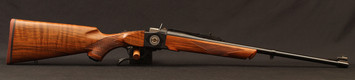 "Ruger - 308Win - No 1-A Light Sporter 50TH Anniversary Edition - High-Grade American Walnut/Custom 50th Anniversary No.1 Breech Block Engraving/Blued, 22""Barrel, Mfg# 21308, S/N 13451292"