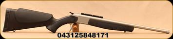 "CVA - 350Legend - Scout V2 Single Shot Takedown Compact - Break Action Rifle - Black Synthetic Forend/Stock/Matte Stainless Finish,20"" Fluted Barrel, DuraSight Rail"