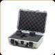 Nanuk - 910 - 2 Gun Case - Cubed Foam - Silver - 910-1005