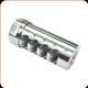 American Precision Arms - Gen 3 - Little Bastard Brake - Stainless Steel - .338 - 5/8x24