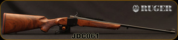 "Ruger - 280AI - No.1 Joe D.Clayton - Single Shot Rifle - Upgraded Walnut/Blued, 25""Barrel, Mfg# 21329, S/N JDC061"