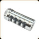 American Precision Arms - Gen 3 - Little Bastard Brake - Stainless Steel - .338 - 18x1.5