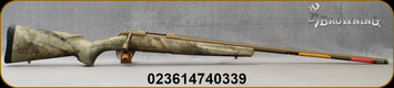 "Browning - 6.5PRC - X-Bolt Hell's Canyon Long Range - ATACS AU (Arid Urban) Camo Stock/Cerakote Burnt Bronze Finish, 26"" Fluted Heavy Sporter Barrel -  Mfg# 035499294"