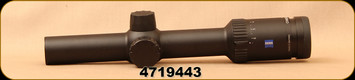 Consign - Zeiss - Conquest - V6 - 1-6x24mm, #60 Reticle - Scope mounted only, not hunted or shot - in original box