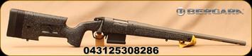 "Bergara - 308Win - HMR Pro - Bolt Action Rifle - Black & Grey Adjustable HMR Pro Stock w/mini chassis/Tactical Grey Cerakote, 20""Threaded(5/8x24) Barrel, 5 Round AICS Detachable Box Magazine, 1:10""Twist, Mfg# BPR20-308MC"