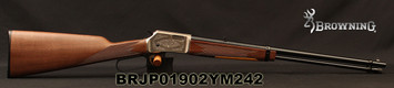 "Browning - 22S/L/LR - BL-22 FLD Grade II - Lever Action Rifle - Walnut Stock/ Engraved Receiver/Blued, 20""Barrel, 15 Round Capacity, Mfg# 024108102, S/N BRJP01902YM242"