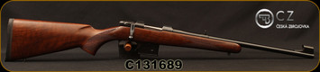 "CZ - 7.62x39 - 527 Carbine - Bolt Action Rifle - Turkish Walnut Stock/Blued Finish, 18.5"" Barrel, 5 Round Detachable Box Magazine, Fixed Sights, Mfg# 5274-7304-BABKAB5, STOCK IMAGE"