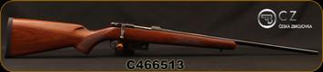 "CZ - 223Rem - 527 American - Bolt Action Rifle - Turkish Walnut/Blued, 21.9"", 5rd Capacity, Adjustable Single Set Trigger, Mfg# 5274-6405-AAAKABX, S/N C466513"