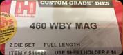 Hornady - Full Length Dies - 460 Wby Mag - 546422