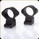 Talley - Lightweights - 30mm Med - Weatherby Lightweight - 6 Lug - Black