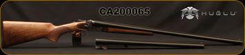 "Huglu - 12Ga/3""/30"" & 20"" - 201HRZ - 2 Barrel Set - Double Trigger SxS - Turkish Walnut Pistol Grip/Case Hardened/Chrome-Lined Barrels, SKU: 86817153922402BP, S/N CA200065"