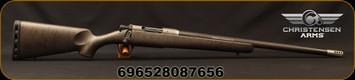 "Christensen Arms - 6.5Creedmoor - Ridgeline Titanium - Bolt Action Rifle - Carbon Fiber Stock Metallic Grey w/Black Webbing/Carbon Fiber Wrapped 416R Stainless Steel Barrel, 22"" Threaded Barrel, 4 Rounds"