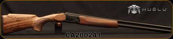 "Huglu - 12Ga/3""/26 - S12E - Ladies/Youth O/U - Grade 2 Turkish Walnut Monte Carlo Stock w/Adjustable Comb/Black Receiver/Chrome-lined barrels, M Choke, SKU# 8681715390864-2, S/N CA200241"