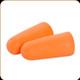 Allen - Foam Silencer Ear Plugs - 32 NRR - One Pair - Orange