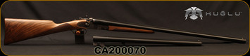 "Huglu - 12Ga/3""/30"" & 20"" - 201HRZ - 2 Barrel Set - Double Trigger SxS - Turkish Walnut English Grip/Case Hardened/Chrome-Lined Barrels, SKU: 86817443089392BE, S/N CA200070"