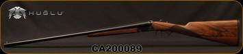 "Huglu - 28Ga/2.75""/26"" - Model 202B Mini - SXS - Grade II Turkish Walnut English Stock/Case Hardened/Chrome-Lined Barrels, Double Trigger, 5pc. Mobile Choke, SKU# 8681715394800-2, S/N CA200089"