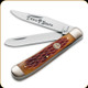 Boker - Traditional Series Trapper - Stainless Steel Blade - Jigged Brown Bone Handle - 110732C