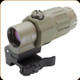 EOTech - G33.STSTAN - 3x Magnifier for Red Dot Sights w/STS Mount - Tan