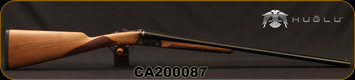 "Huglu - 28Ga/2.75""/26"" - Model 202B Mini - SXS - Turkish Walnut English Stock/Case Hardened/Chrome-Lined Barrels, Double Trigger, 5pc. Mobile Choke, SKU# 8681715394800, S/N CA200087"