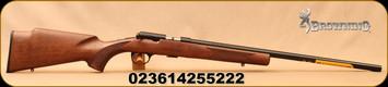 "Browning - 22LR - T-Bolt Target/Varmint - Satin Finish Checkered Walnut/Polished, Blued, 22"" Heavy Target Barrel - Mfg# 025176202"