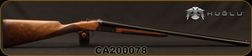 "Huglu - 20Ga/3""/26"" - 202B - SxS - Grade AA+ Turkish Walnut English Stock/Case Hardened Receiver/Chrome-Lined Barrels, Double Trigger, Mobile Chokes, SKU# 8681715394817-2, S/N CA200078"