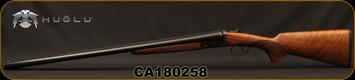 "Huglu - 12Ga/3""/28"" - 200A - SxS w/Extractors - Turkish Walnut/Case Hardened Receiver/Chrome-Lined Barrels, 5pc. Mobile Choke, SKU# 8681715391731, S/N CA180258"