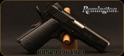 "Remington - 45ACP - 1911 R1 Ultralight Commander - Semi Auto Pistol - Synthetic Laminate Grips/PDV Carbon Steel Finish, 4.25"" Barrel, Mfg# 96492"