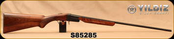 "Yildiz - 410Ga/3""/26"" - TK-36 - Single-Shot Break-Action Shotgun - Turkish Walnut/Black Receiver/Blued Barrel, S/N S85285"