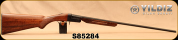 "Yildiz - 410Ga/3""/26"" - TK-36 - Single-Shot Break-Action Shotgun - Turkish Walnut/Black Receiver/Blued Barrel, S/N S85284"