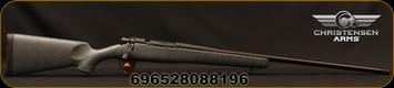 "Christensen Arms - 300WinMag - Mesa - Lipsey's LTD Ed. - Long Action - Armor Grey w/Black Webbing Carbon Fiber Composite Stock/Black Cerakote, 24"", 1:10""Twist"