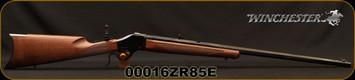 "Winchester - 45-70Govt - 1885 High Wall Traditional Hunter - Single Shot Falling Block Action Rifle - Satin Finish Walnut Stock/Gloss Blued,28""Octagon Barrel, Tang Peep Sight, Mfg# 534197142, S/N 00016ZR85E"