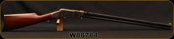 "Cimarron - Uberti - 45Colt - 1860 Steel Framed - Lever Action Henry Rifle - Walnut Stock/Case Hardened/Standard Blued Finish, 24"" Barrel, 12 Round, Mfg# CA236, S/N W88784"