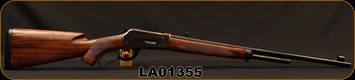 "Cimarron - Pedersoli - 348Win - Model '71 Premium - Lever Action - Hand checkered walnut stock/Case Hardened Receiver/Blued, 24""Barrel, 5round capacity, Mfg# SH911, S/N LA01355"