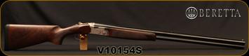 "Consign - Beretta - 12Ga/3""/32"" - Silver Pigeon I Sporting - O/U w/ Ejectors - Grade AA+ Walnut/Engraved receiver/Blued Barrels, 10x8 Rib, 5pc. Choke - In original case"