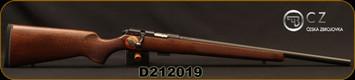 "CZ - 22LR - 457 Varmint - Bolt Action Rifle - Turkish Walnut Stock/Black Nitride Finish, 20.5""Heavy Barrel, 5 Round Detachable Magazine, Adjustable Trigger, Mfg# 5084-8021-JAAMAA5, S/N D212019"