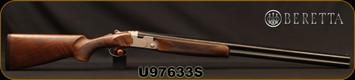 "Beretta - 12Ga/3""/30"" - Model 686 Silver Pigeon I - O/U - Oil-Finished Walnut Stock/scroll-engraved receiver/Cold Hammer Forged Barrels, 5pc. Mobilchoke, Mfg# 3W16P1L300661, S/N U97633S"