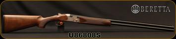 "Beretta - 20Ga/3""/29.5"" - Model 686 Silver Pigeon I - O/U - Oil-Finished Walnut Stock/scroll-engraved receiver/Cold Hammer Forged Barrels, 5pc. Mobilchoke, Mfg# 3W18P1L300661, S/N U86808S"
