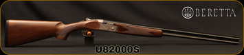 "Beretta - 410Ga/3""/29.5"" - Model 686 Silver Pigeon I - O/U - Oil-Finished Walnut Stock/scroll-engraved receiver/Cold Hammer Forged Barrels, 5pc. Mobilchoke, Mfg# 3W19P3L100661, S/N U82000S"