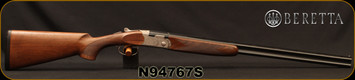 "Beretta - 410Ga/3""/26"" - Model 686 Silver Pigeon I - O/U - Oil-Finished Walnut Stock/scroll-engraved receiver/Cold Hammer Forged Barrels, 5pc. Mobilchoke, Mfg# 3W49P3L100311, S/N N94767S"